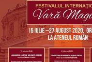 Vara Magică începe la Bucureşti în aer liber, în Curtea Ateneului Român, pe 15 iulie