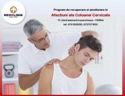 Program de Recuperare in Afectiunile Coloanei Cervicale-cost 1500