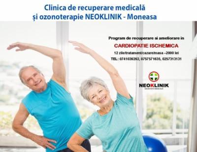 Program de Recuperare in Afectiuni Cardiovasculare 2000 lei NeoKlinik statiunea Moneasa
