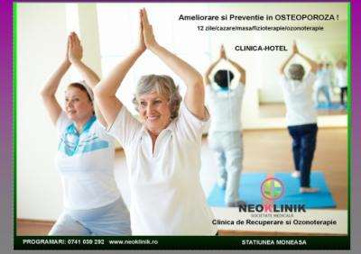 Recuperare Medicala in Osteoporoza la NeoKlinik statiunea Moneasa
