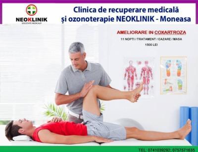Recuperare Medicala in Coxartroza la NeoKlinik in Statiunea Moneasa