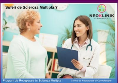 Tratament Recuperator in Scleroza Multipla la NeoKlinik in statiunea Moneasa
