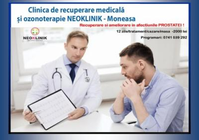 Ameliorare in Afectiuni ale Prostatei la NeoKlinik in statiunea Moneasa