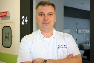 Asist. Univ. Dr.Radu Matache, Medic primar chirurgie toracică