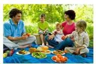 Cum puteti sa slabiti cu alimente sanatoase, la picnic